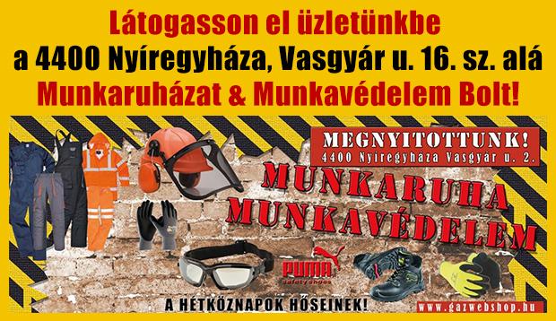 2c515500b576 Munkaruházat, munkavédelem Nyíregyháza, Debrecen, Eger, Budapest, Győr
